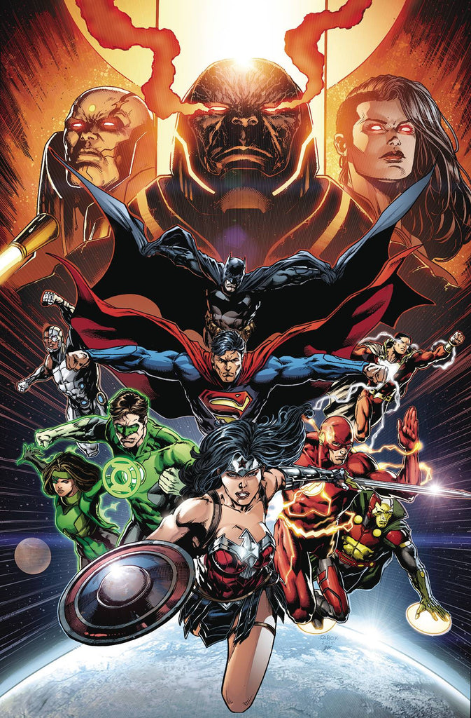 JUSTICE LEAGUE #50 (NOTE PRICE) COVER