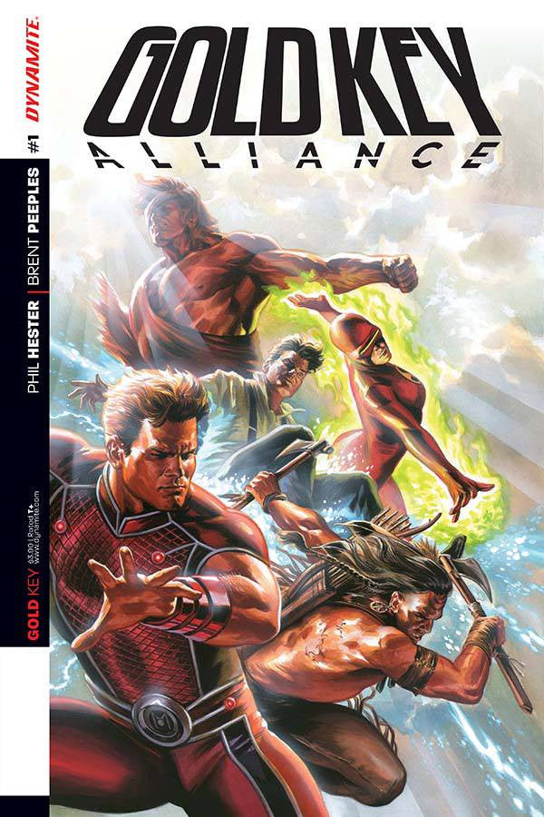 GOLD KEY ALLIANCE #1 (OF 5) CVR A MASSAFERA COVER