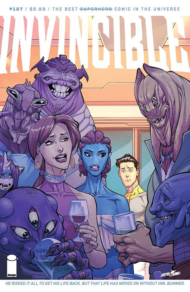 INVINCIBLE #127 COVER