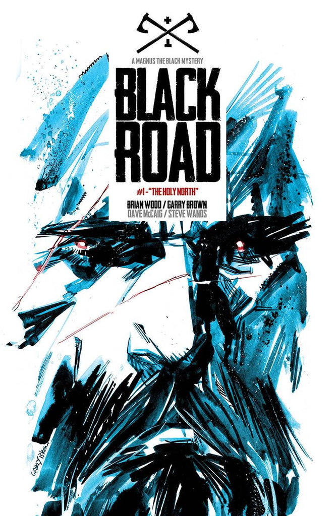 BLACK ROAD #1 (MR) COVER