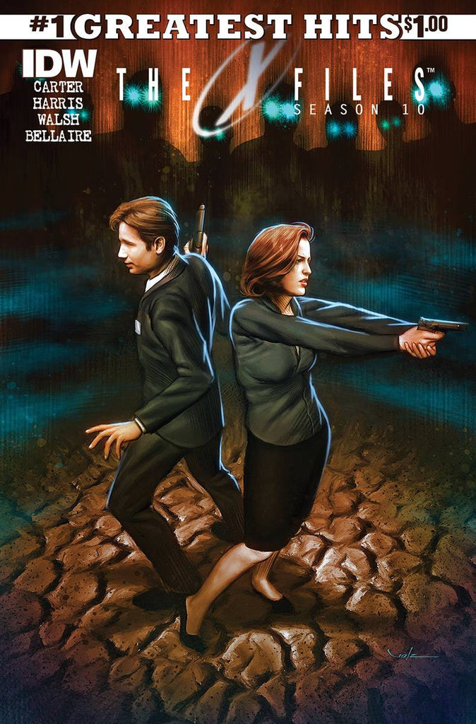 X-FILES SEASON 10 #1 IDW GREATEST HITS ED COVER