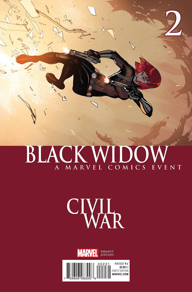 BLACK WIDOW #2 BENGAL CIVIL WAR VAR COVER