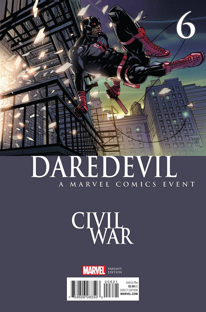 DAREDEVIL #6 FERRY CIVIL WAR VAR COVER