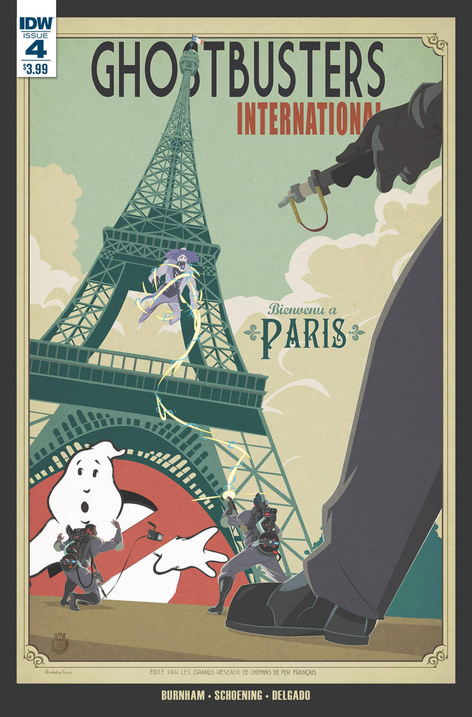 GHOSTBUSTERS INTERNATIONAL #4(OF 4) COVER