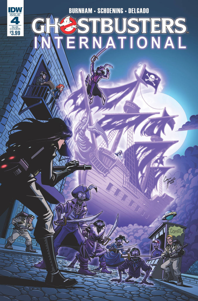 GHOSTBUSTERS INTERNATIONAL #4(OF 4) SUBSCRIPTION VAR COVER