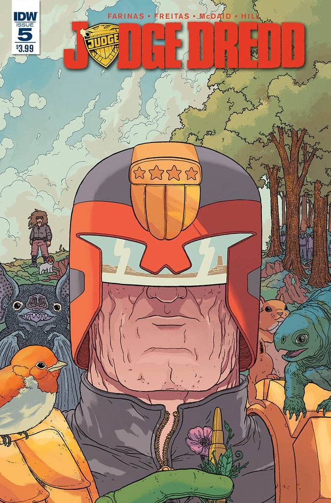 JUDGE DREDD (ONGOING) #5 COVER