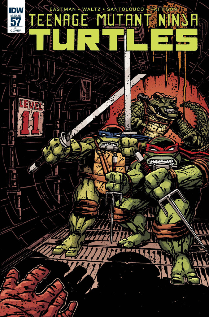 TMNT ONGOING #57 10 COPY INCV(NET) (C: 1-0-0) COVER