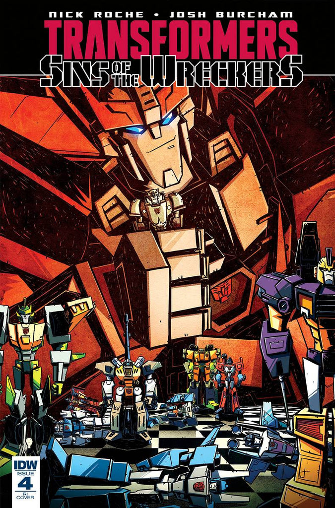TRANSFORMERS SINS OF WRECKERS #4 (OF 5) 10 COPY INCV COVER
