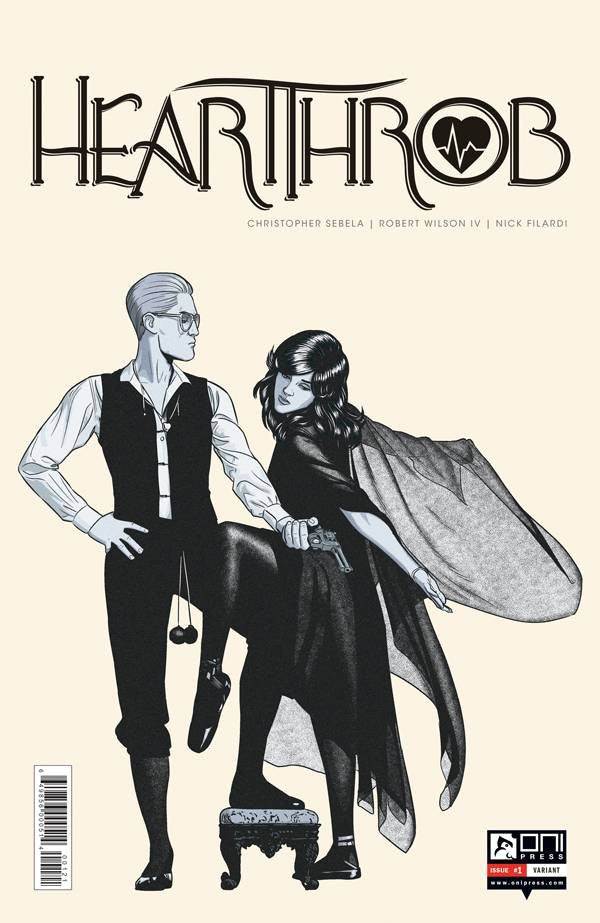 HEARTTHROB #1 VAR MCKELVIE COVER