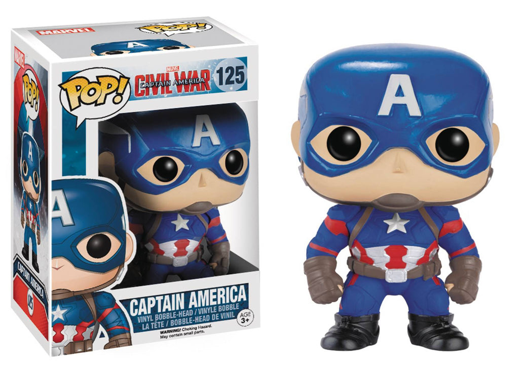 POP CAPTAIN AMERICA 3 CAPTAINAMERICA VINYL FIG