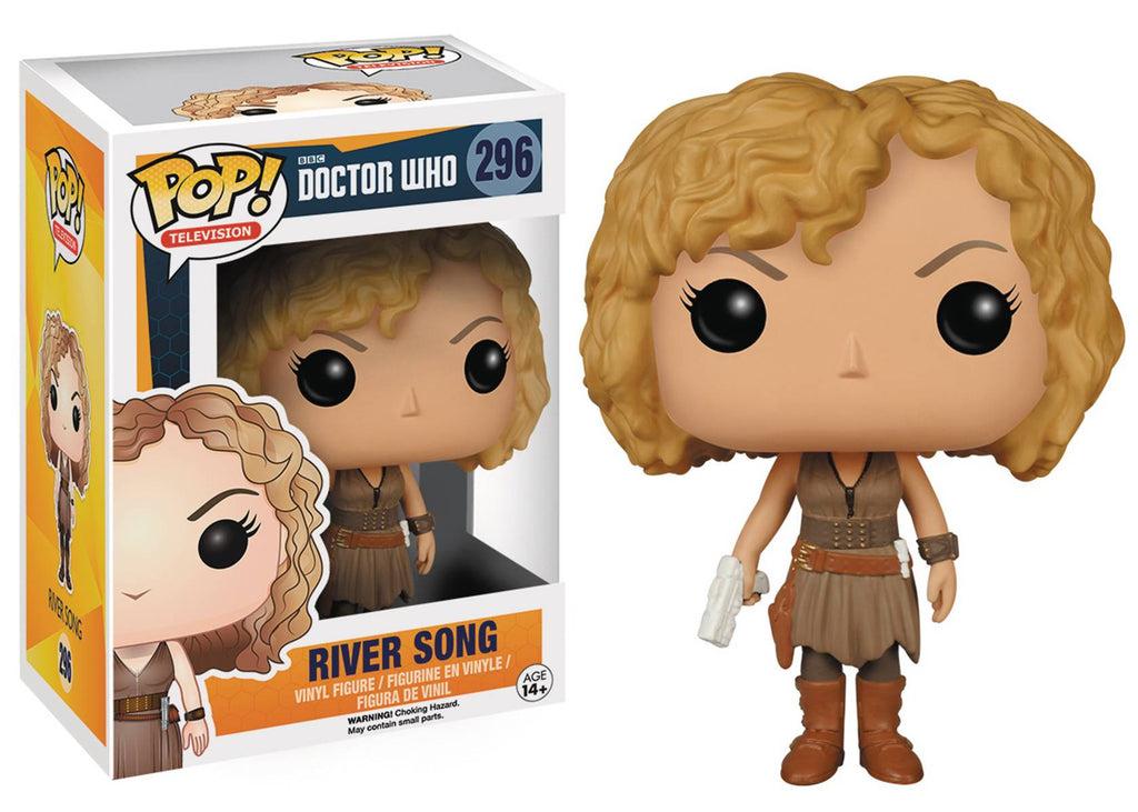 POP DOCTOR WHO RIVER SONG VINYL FIG