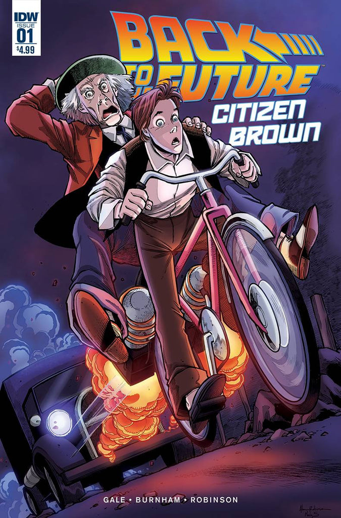 BACK TO THE FUTURE CITIZEN BROWN #1 (OF 5)