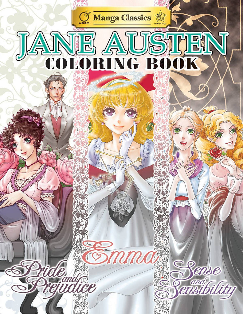 JANE AUSTEN COLORING BOOK SC COVER