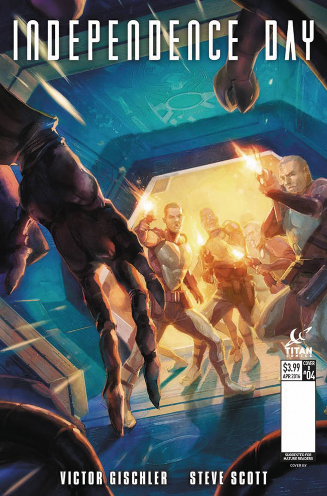 INDEPENDENCE DAY #4 (OF 5) CVR A XERMANCIO COVER