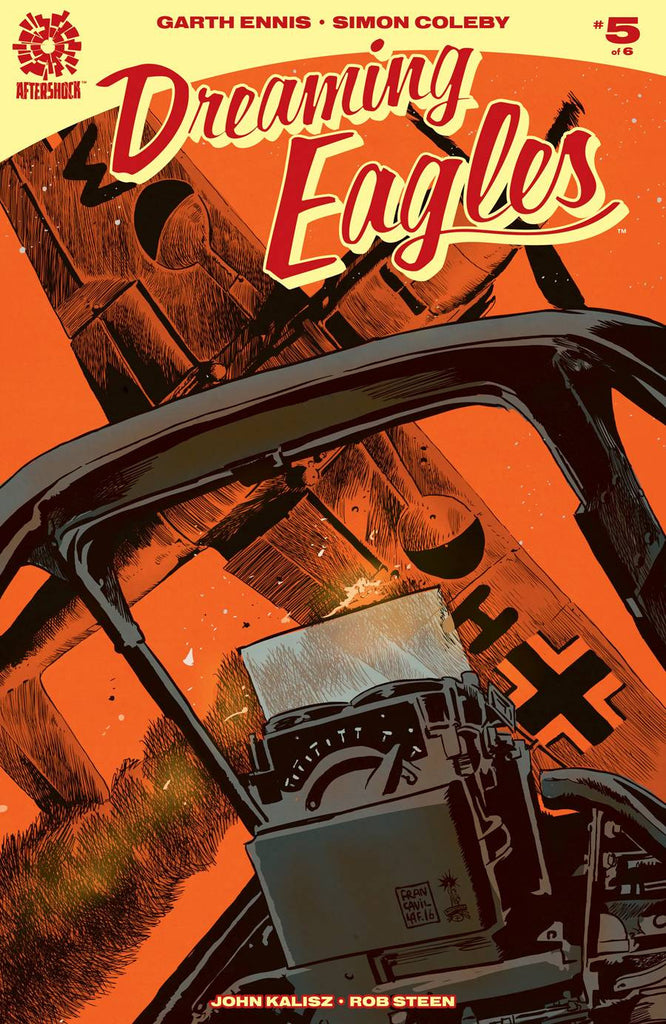 DREAMING EAGLES #5 (MR) COVER
