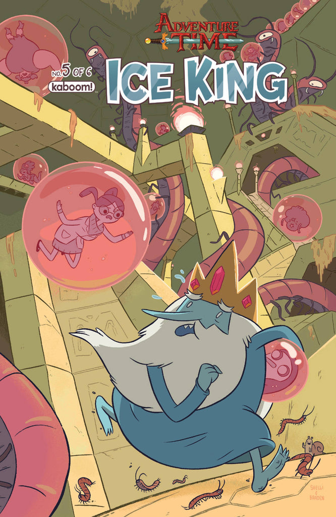 ADVENTURE TIME ICE KING #5 COVER