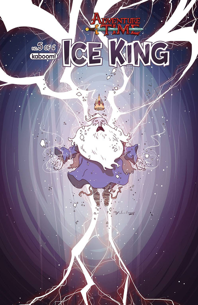 ADVENTURE TIME ICE KING #5 SUBSCRIPTION FALARDEAU VAR (C: 1- COVER