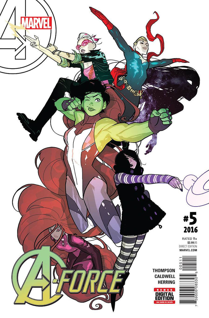 A-FORCE #5 COVER