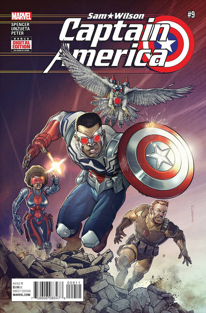 CAPTAIN AMERICA SAM WILSON #9ASO COVER