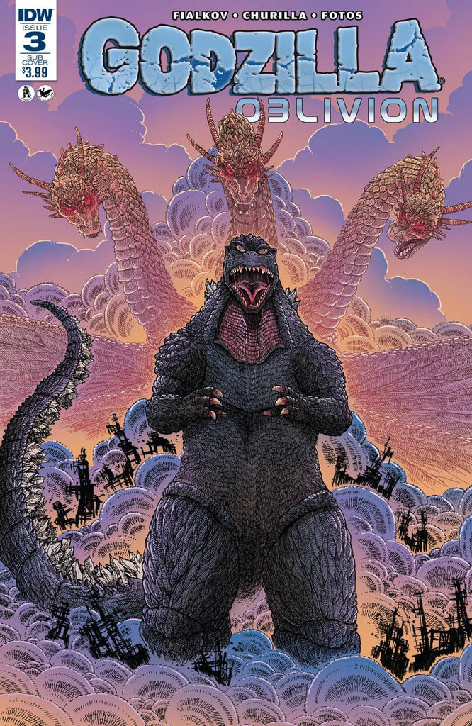 GODZILLA OBLIVION #3 (OF 5) SUBSCRIPTION VAR COVER