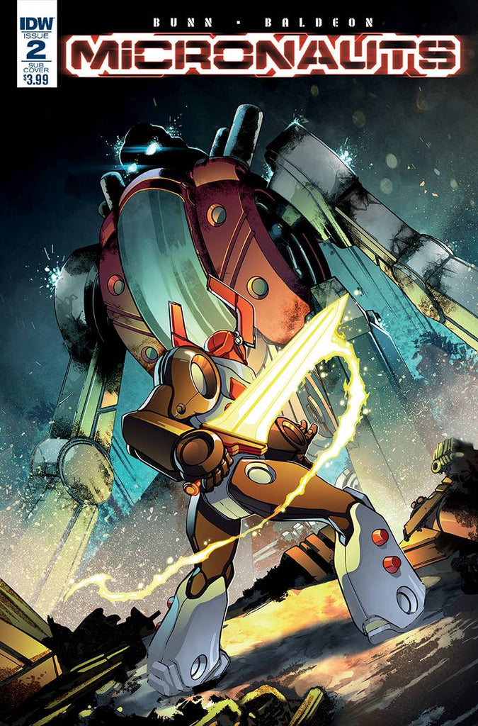 MICRONAUTS #2 SUBSCRIPTION VAR A COVER