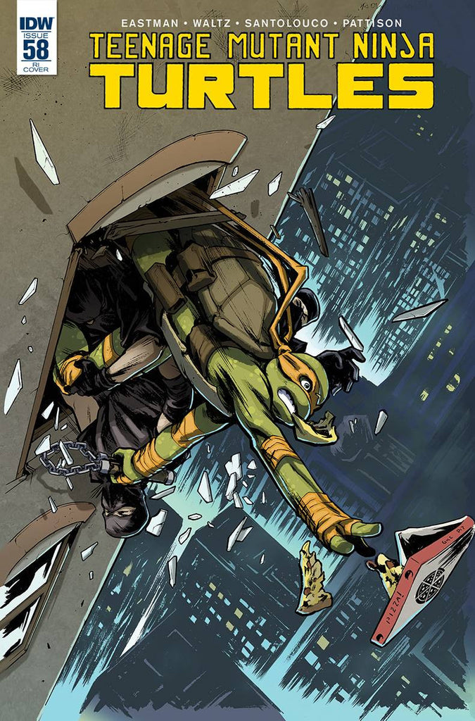 TMNT ONGOING #58 10 COPY INCV