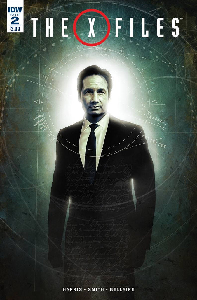X-FILES (2016) #2 COVER