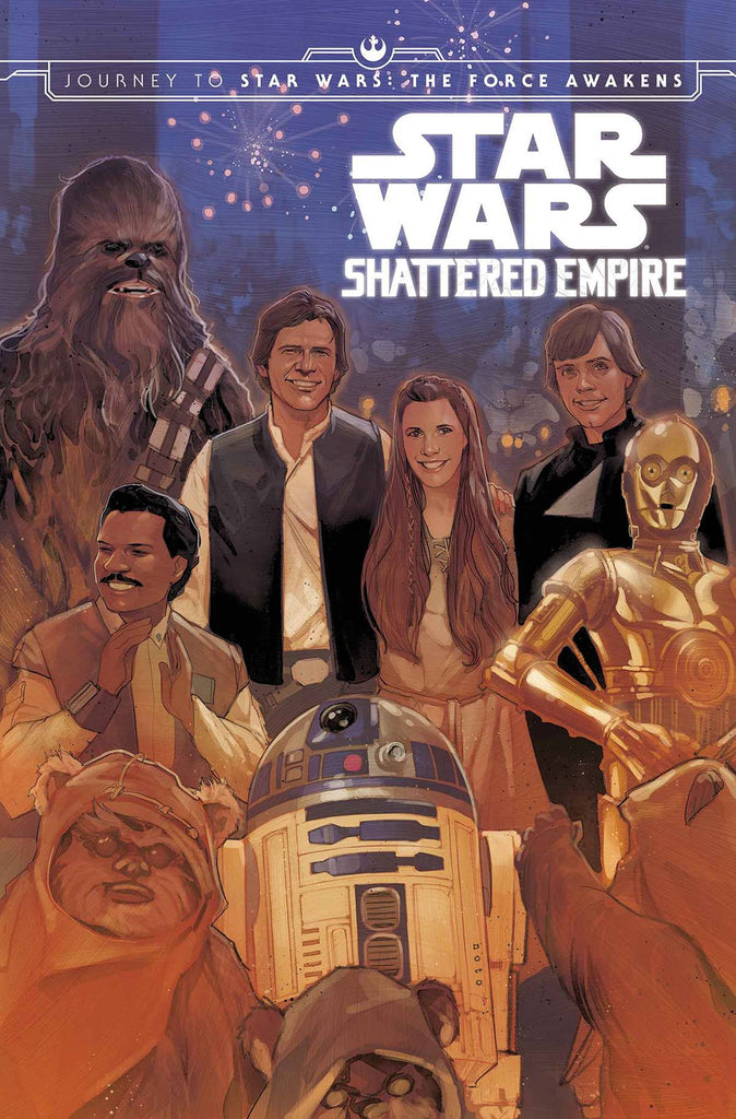 TRUE BELIEVERS SHATTERED EMPIRE #1 COVER