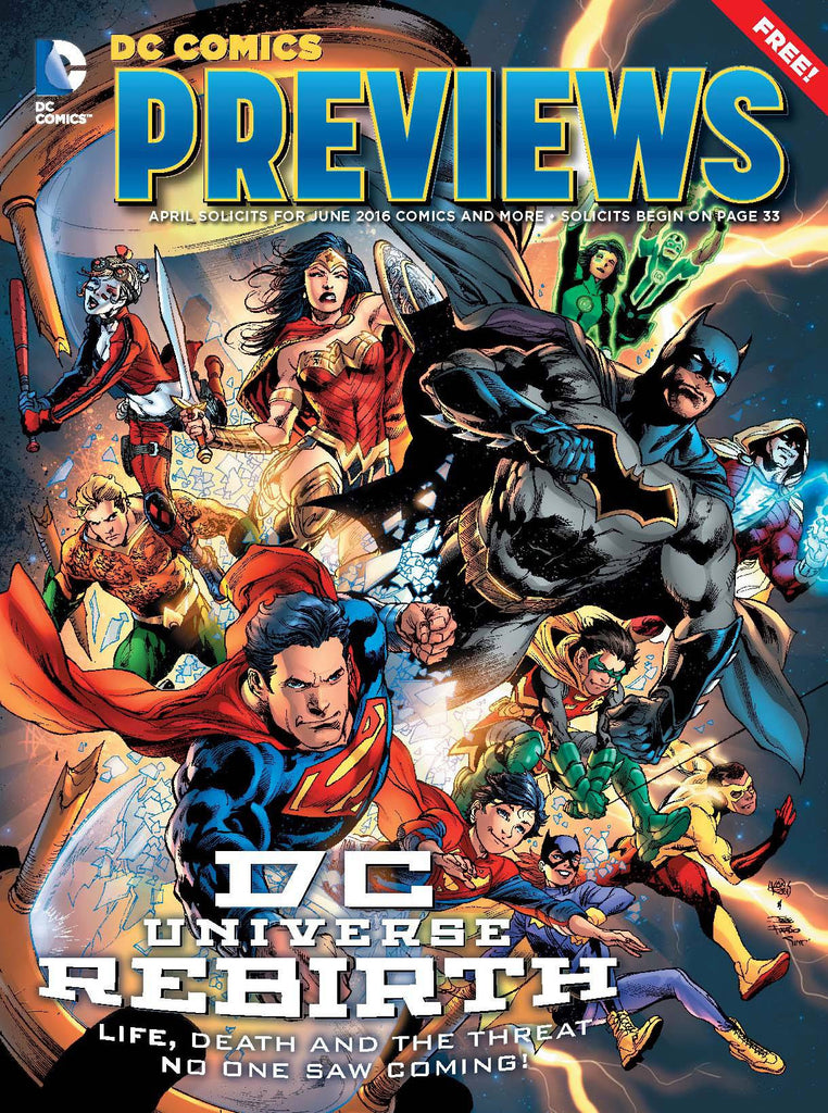 DC PREVIEWS APRIL 2016 COVER