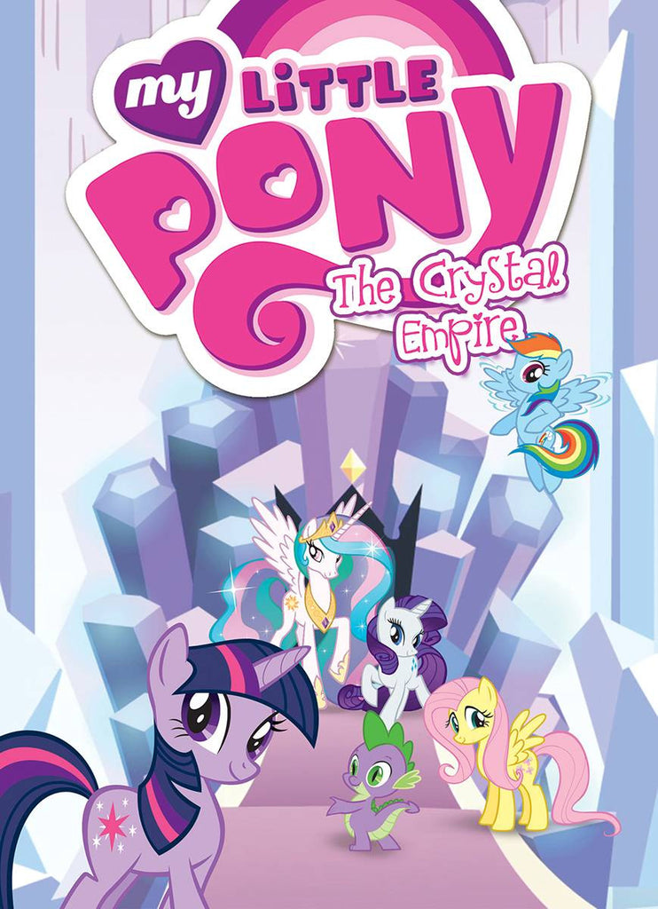 MY LITTLE PONY TP VOL 05 CRYSTAL EMPIRE COVER