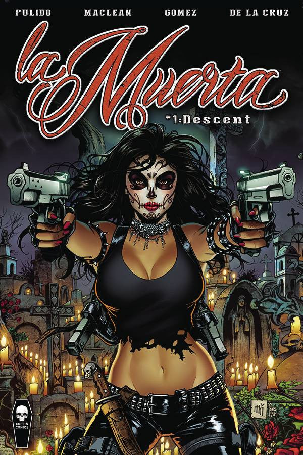LA MUERTA DESCENT #1 REG ED (MR) COVER