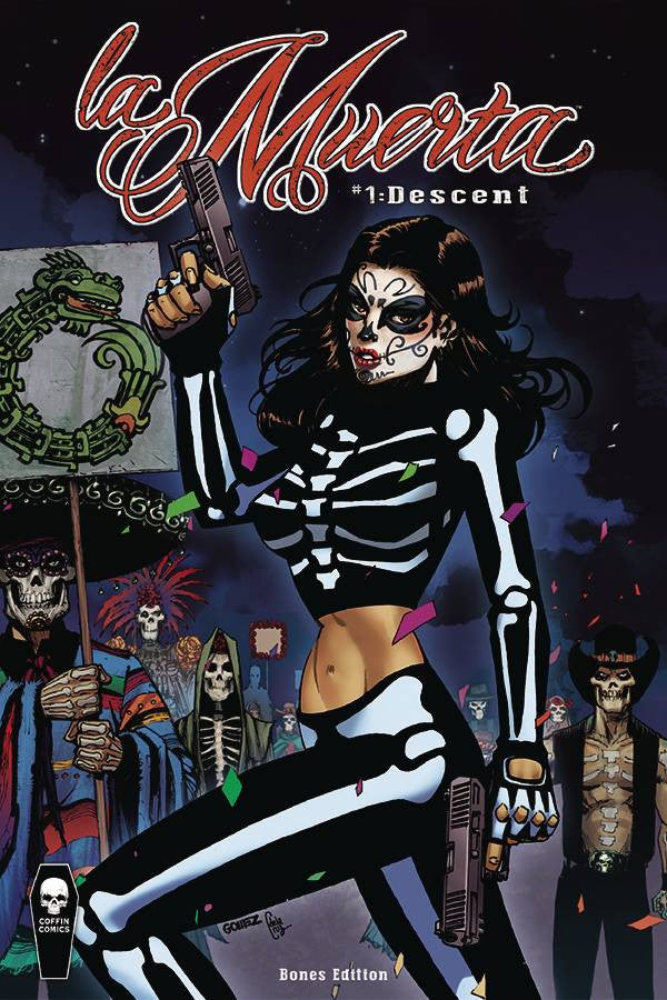 LA MUERTA DESCENT #1 BONES ED (MR) COVER