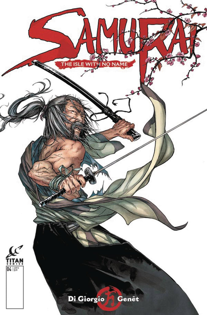 SAMURAI #4 (OF 8) CVR A  GENET (MR) COVER