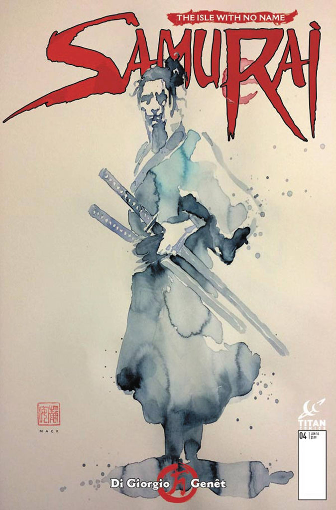 SAMURAI #4 (OF 8) CVR B MACK (MR) COVER