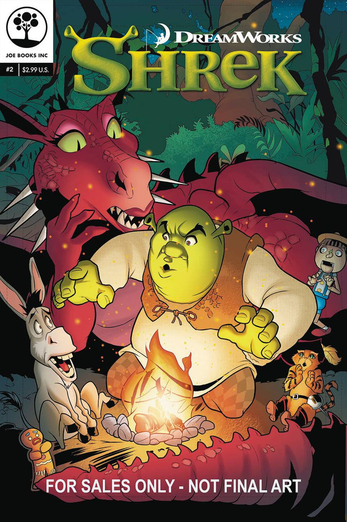 DREAMWORKS SHREK #2 COVER