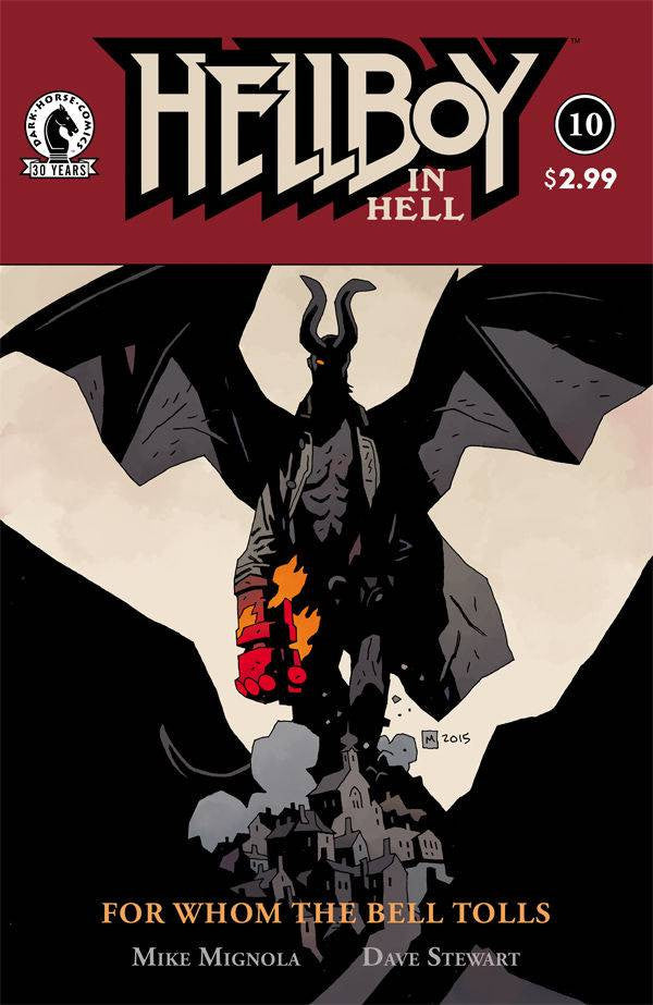 HELLBOY IN HELL #10 COVER