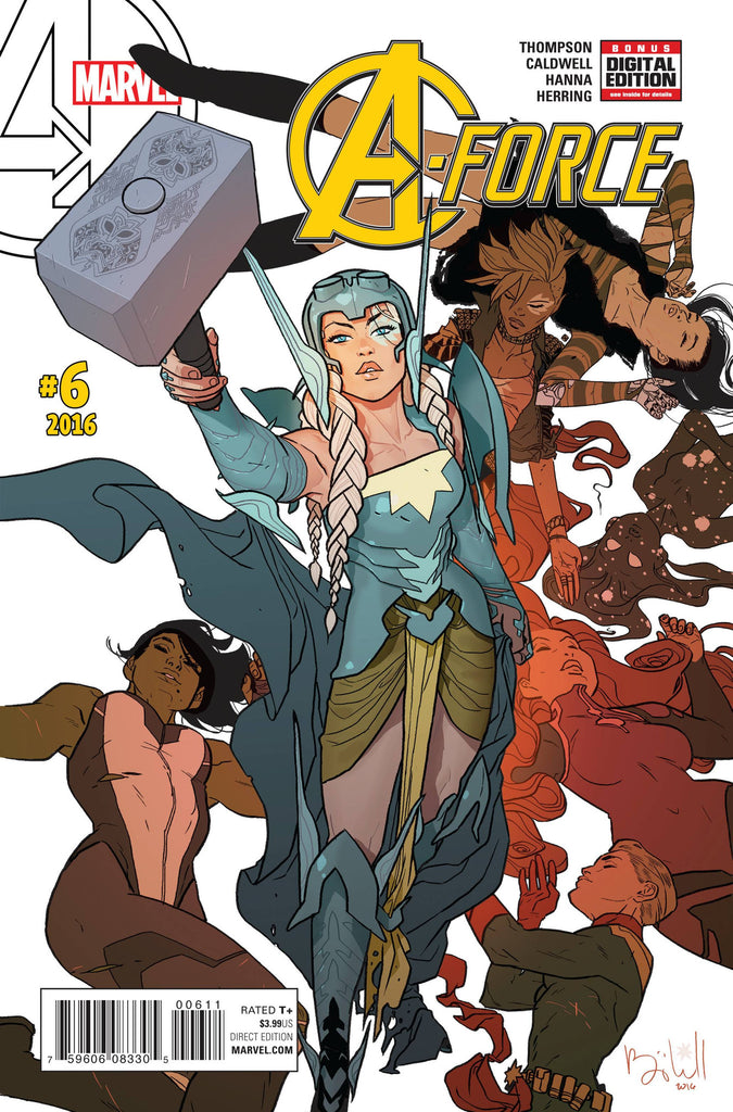 A-FORCE #6 COVER
