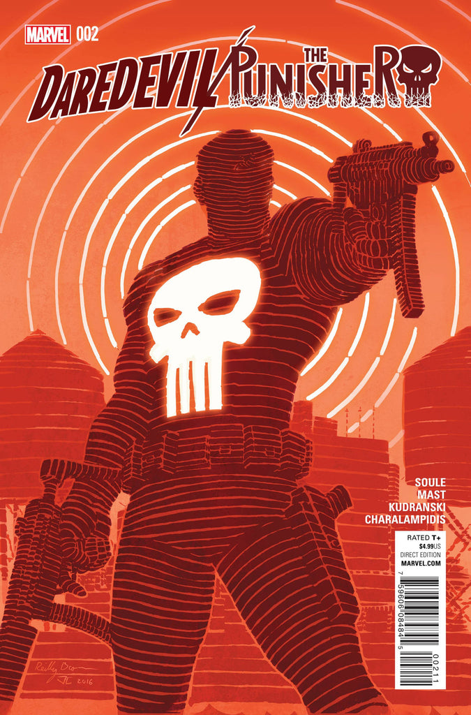 DAREDEVIL PUNISHER #2 (OF 4) COVER