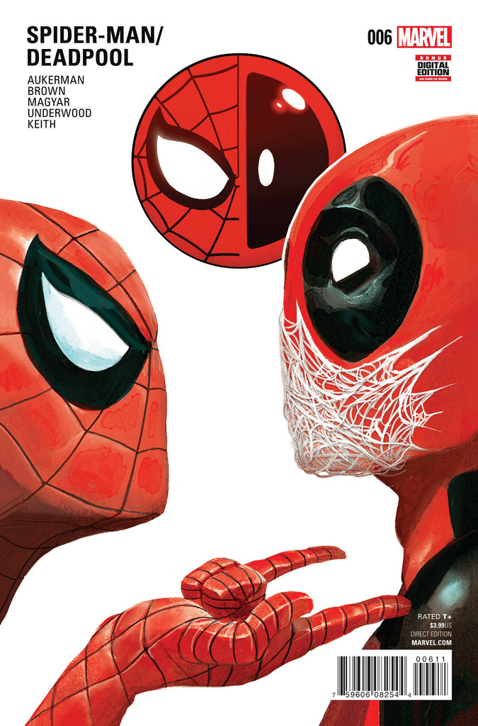 SPIDER-MAN DEADPOOL #6 COVER