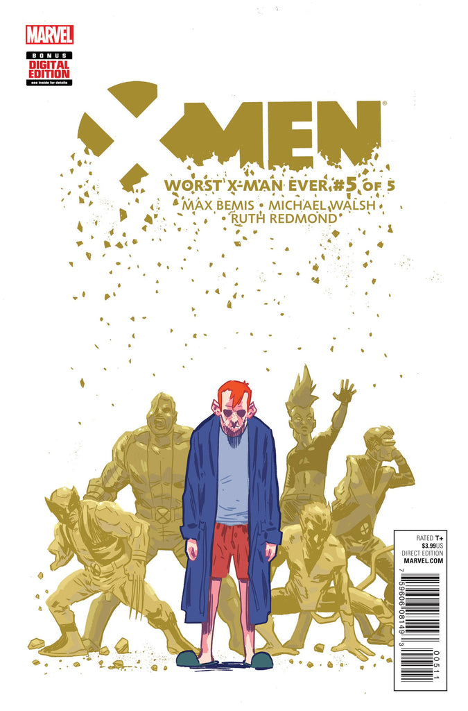 X-MEN WORST X-MAN EVER #5 (OF5) COVER