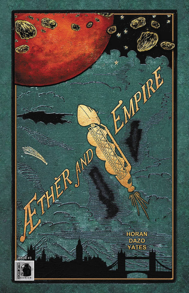 AETHER AND EMPIRE #3 COVER