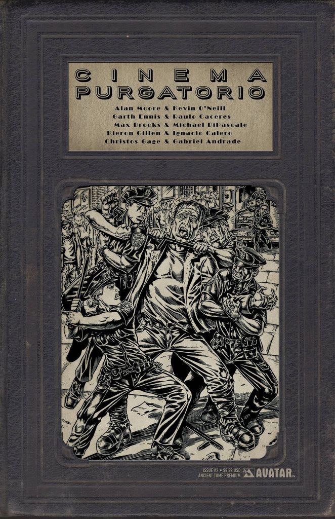 CINEMA PURGATORIO #2 ANCIENT TOME PREMIUM CVR (MR) COVER