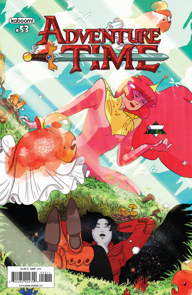 ADVENTURE TIME #53 COVER