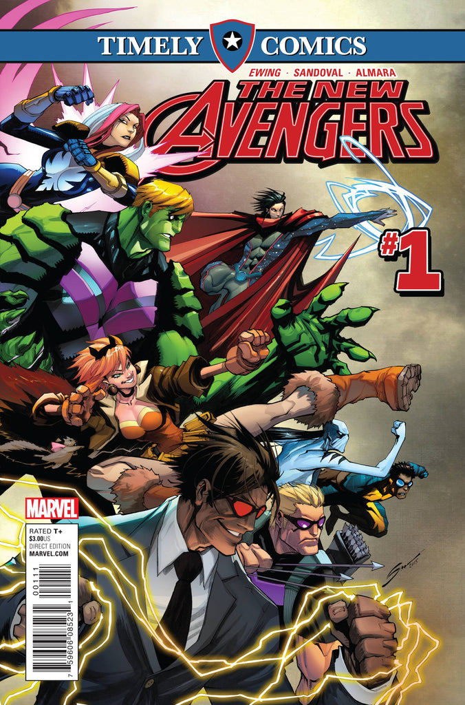 TIMELY COMICS NEW AVENGERS #1 COVER