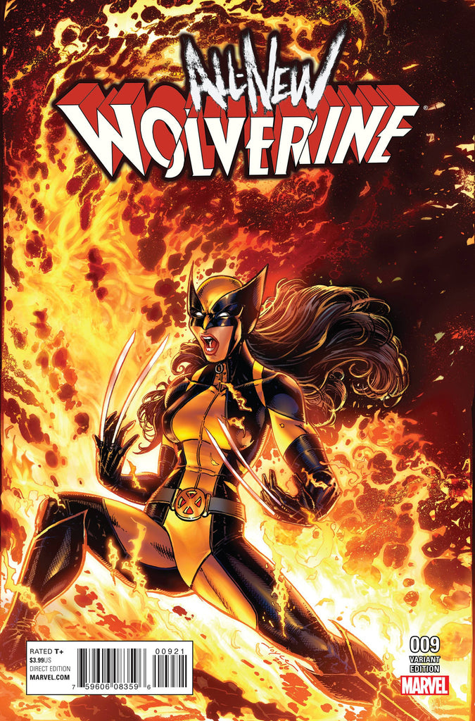 ALL NEW WOLVERINE #9 CW REENACTMENT VAR RCW2 COVER