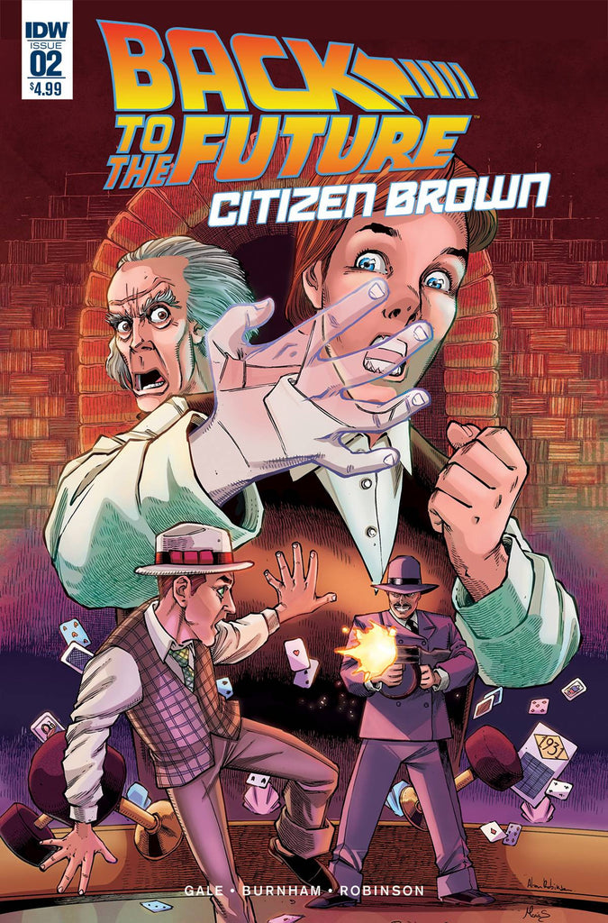 BACK TO THE FUTURE CITIZEN BROWN #2 (OF 5) COVER