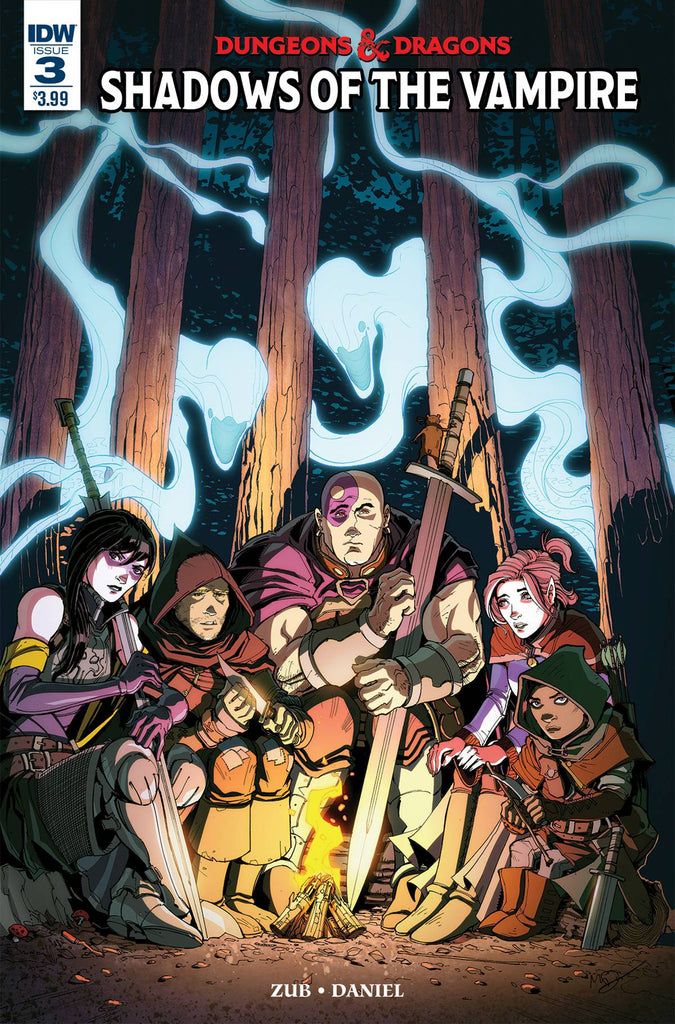 DUNGEONS & DRAGONS (2016) #3 COVER