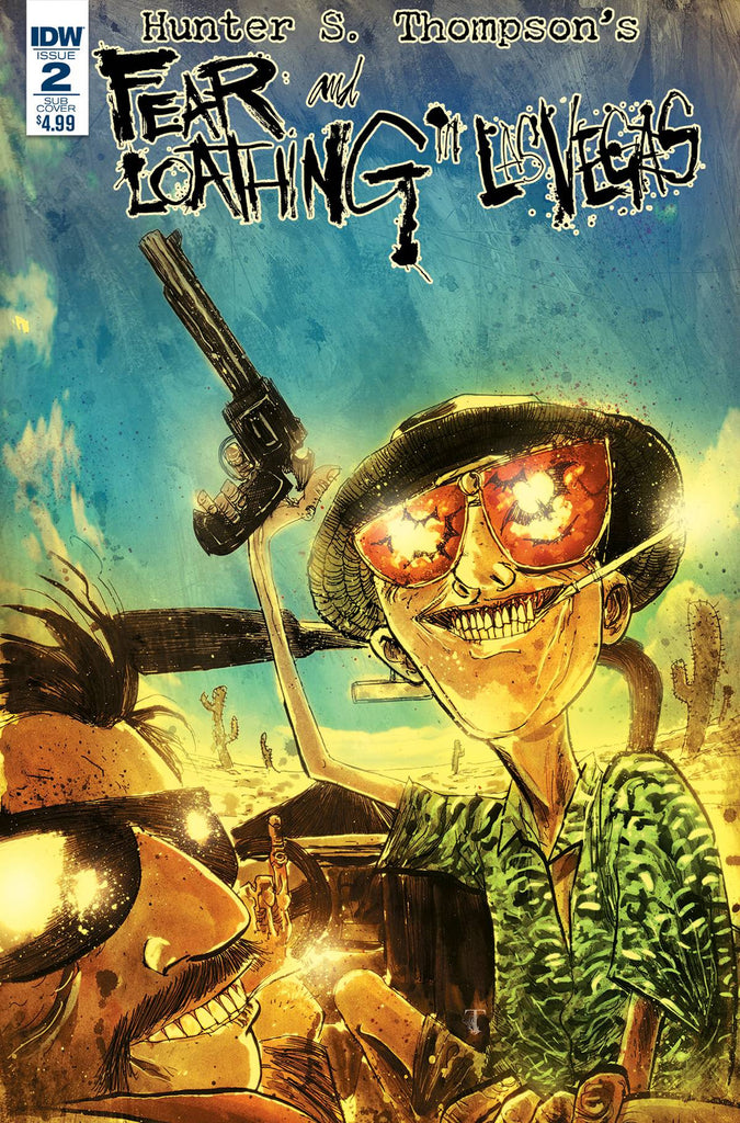 FEAR & LOATHING IN LAS VEGAS #2 SUBSCRIPTION VAR COVER