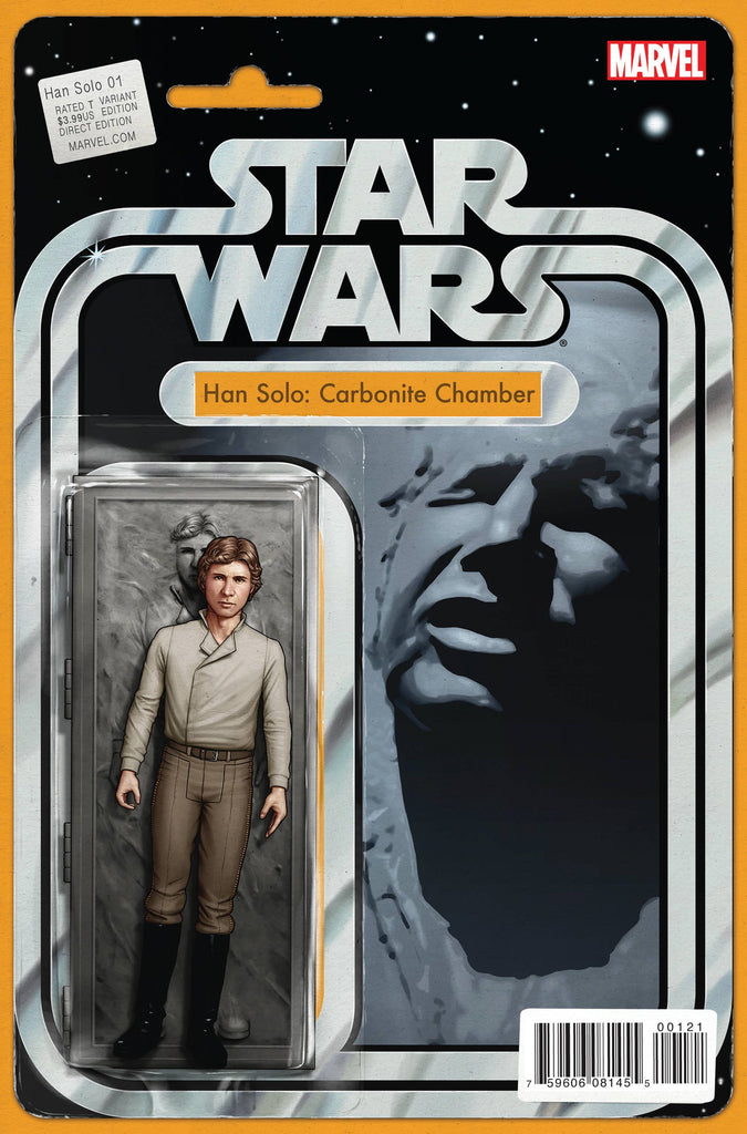 STAR WARS HAN SOLO #1 (OF 5) CHRISTOPHER ACTION FIGURE VARIANT COVER