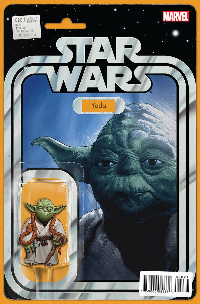 STAR WARS #20 CHRISTOPHER ACTION FIGURE VARIANT COVER